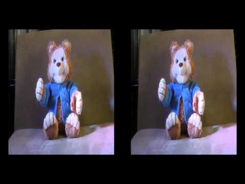 My Bearific Trip to Outer Space in 3D