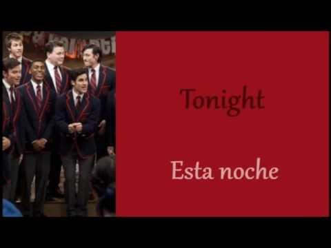 Glee: Hey, Soul Sister (Lyrics + Español)
