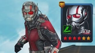 6 STAR ANT MAN | Marvel: Future Fight (iOS/Android)