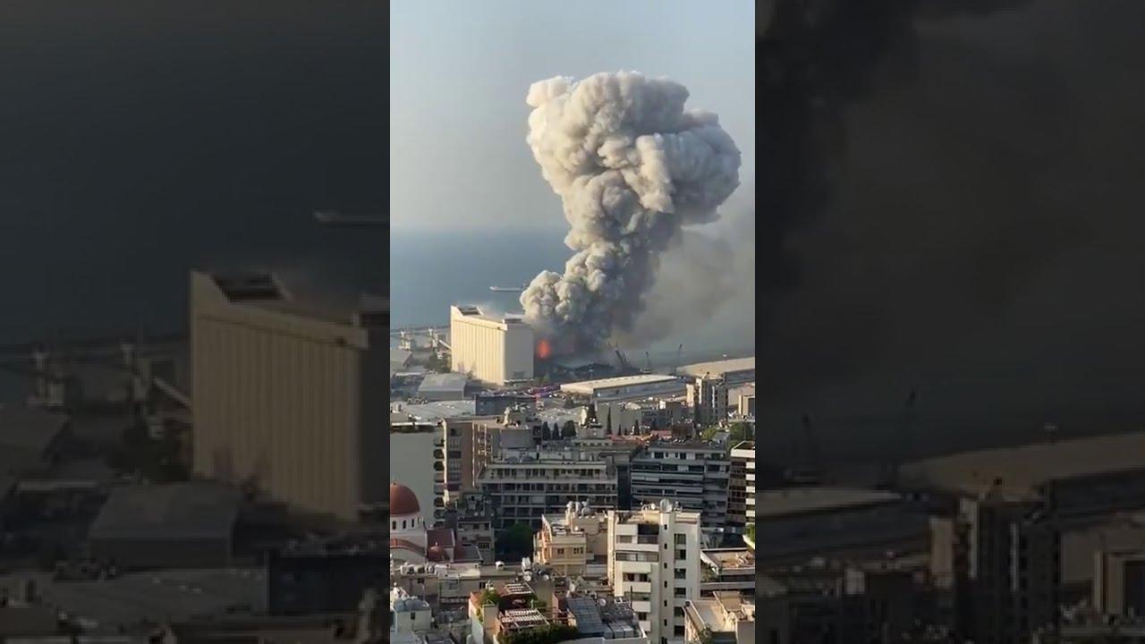 Beirut Lebanon bomb blast.