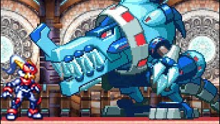 Mega Man ZX Advent (DS) All Bosses (No Damage)