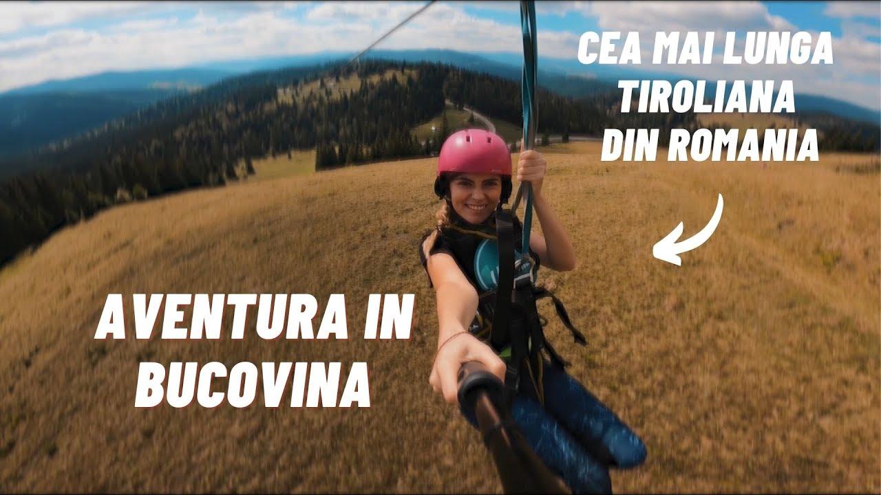3 zile de aventura in Bucovina - Weekend la munte cu drona (Glamping, ATV, Tiroliana si Rafting)