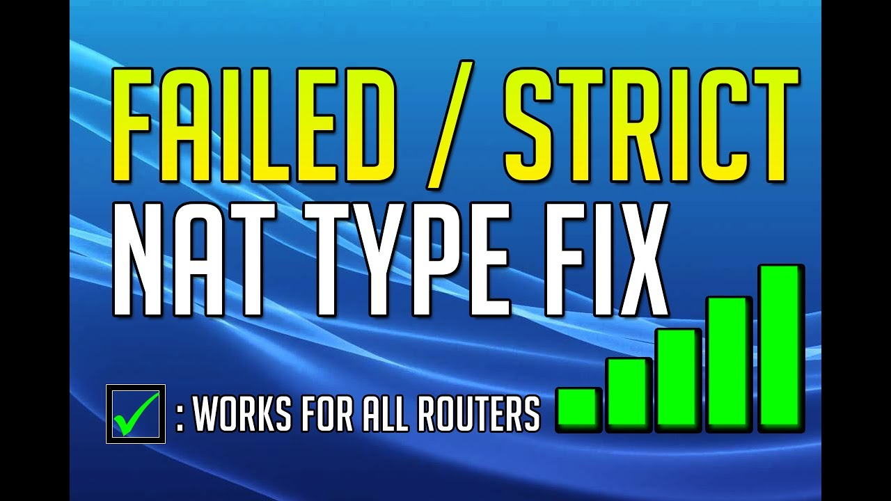 ps4 nat type strict how to change