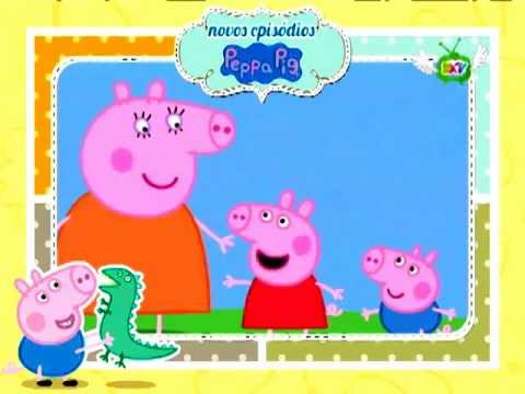 Episódios inéditos da Peppa Pig no Clube DX TV! TRAVEL_VIDEO