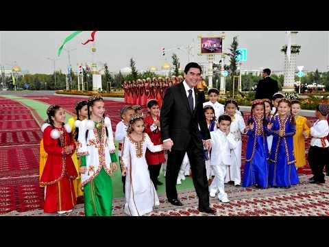 Счастливые туркменские дети