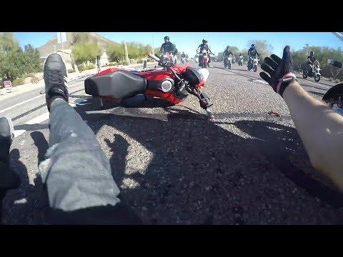 Ultimate MOTORCYCLE Crashes - 2019 #29