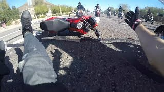 Ultimate MOTORCYCLE Crashes - 2019 #29