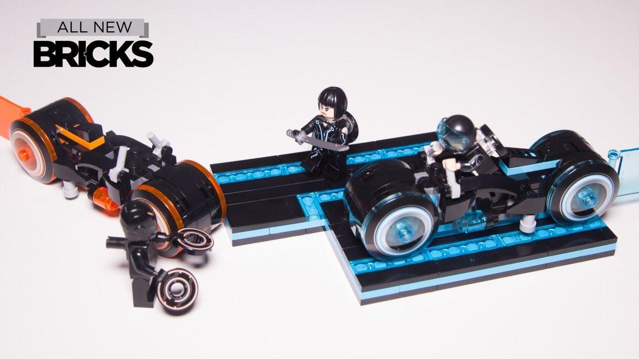 Lego Ideas 21314 Tron Legacy Lego Speed Build with Minifigure Animation