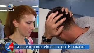 Stirile Kanal D (19.03.2018) - Pastile periculoase, vandute la liber, in farmacie! Editie COMPLETA