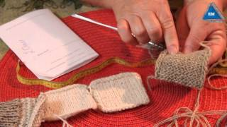 Как рассчитать количество петель для вязания носков спицами - Урок 1