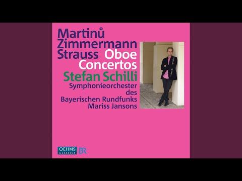 Oboe Concerto: I. Homage to Stravinsky