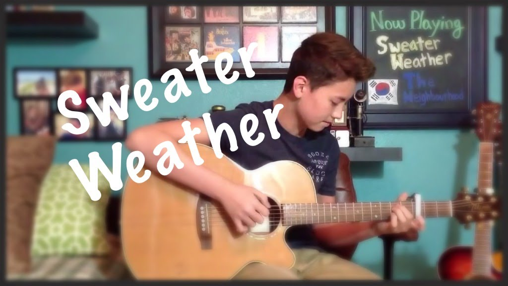 Sweater Weather - The Neighbourhood - Fingerstyle Guitar Cover - YouTube