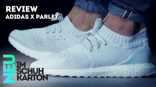 parley x adidas ultra boost uncaged   review