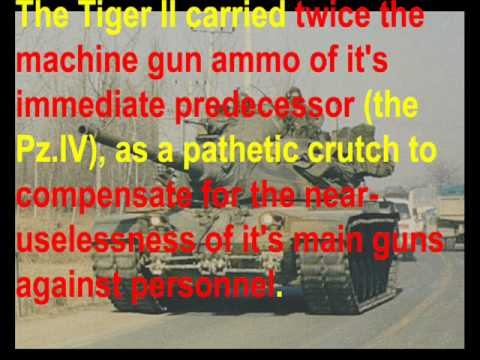 The REAL M1 Abrams! Chapter 13: History Lesson 1 --- the Tiger II (Part 2/2)