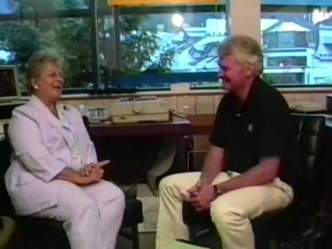 Florence Paterson with Jim Monahan on Whistler Magazine