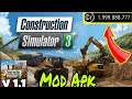 Construction Simulator 3 Latest V 1.1 Mod Apk (Unlimited Money 🤑🤑🤑) Free Download In Android