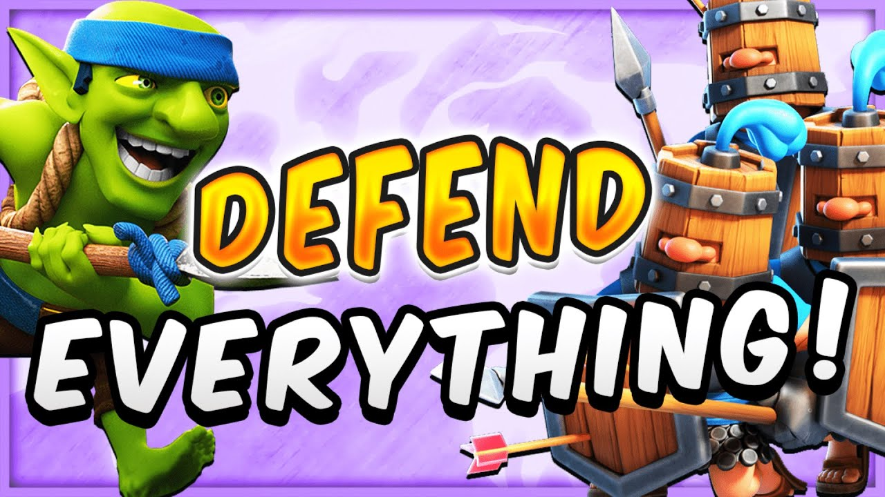 BEWARE: ALL PROS FEAR FACING ROYAL RECRUITS! EASIEST DECK in CLASH ROYALE!