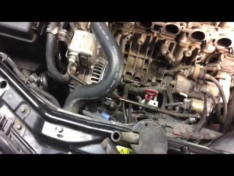 2004 Volvo V70 2 4 liter engine whine noise - PCV oil trap