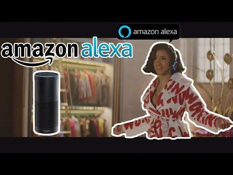 Cardi B Commercial Amazon Alexa - superbowl 2018 Mp3