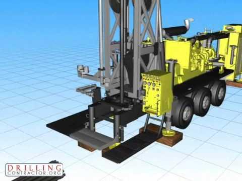 Atlas Copco RD20 Pipe Handling Animation