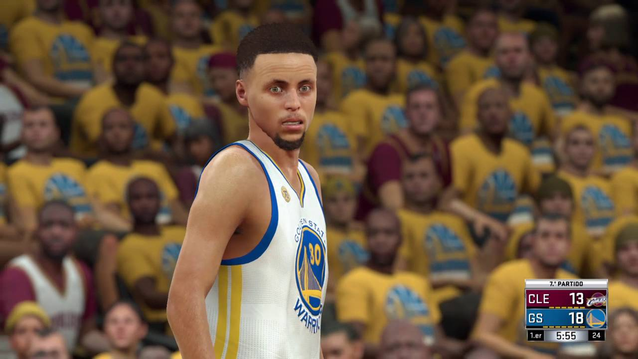 2017-2018 NBA Finals - Game 7, Warriors vs. Cavaliers (NBA 2K17 ...