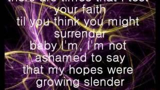 Blessed lyrics - Christina Aguilera