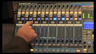 Sweetwater - PreSonus StudioLive 16.4.2 Demo