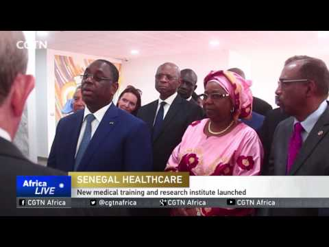 New medical training and research institute launched in Senegal