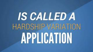 Making a Hardship Application