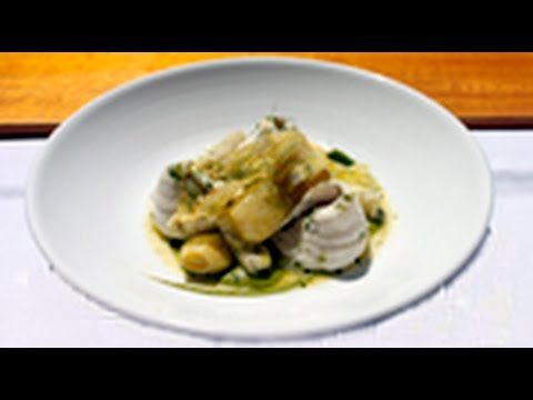 2 Hat awarded chef Stuart Bell's, King George Whiting.