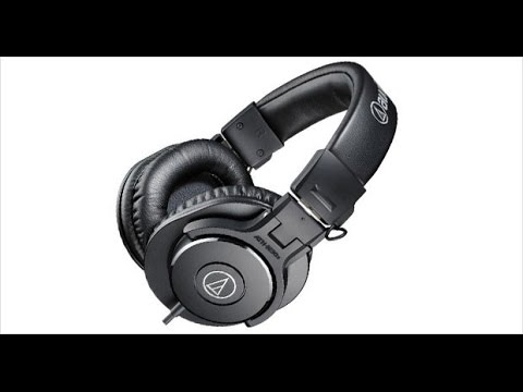 audio technica ath m30x review pros cons youtube. Black Bedroom Furniture Sets. Home Design Ideas
