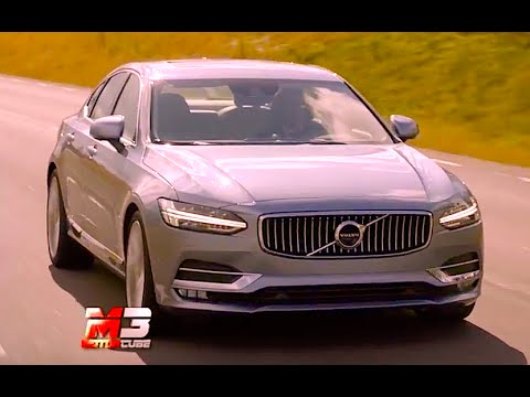 NEW VOLVO S90 2016 - FIRST TEST DRIVE - ENG ITA SUB