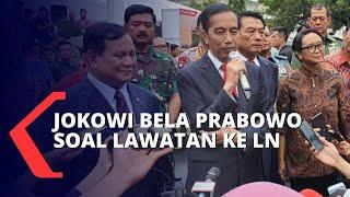 Menhan Sering ke Luar Negeri, Jokowi: Untuk Diplomasi Pertahanan