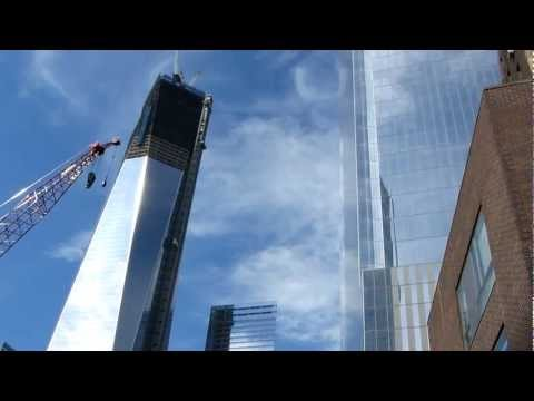 New York City - One World Trade Center Skyscraper in HD