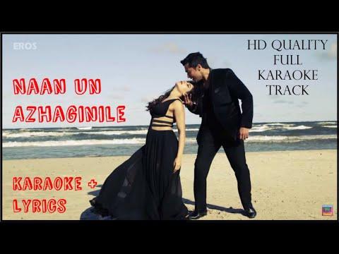 24 | Naan Un | HD Lyrical Karaoke Track | AR Rahman | Surya