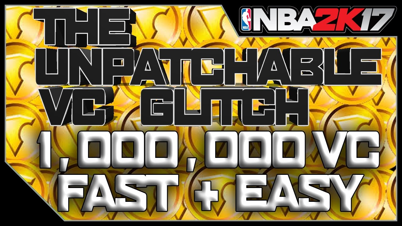 UNPATCHABLE VC GLITCH WORKS AFTER PATCH 7 !! QUICK AND EASY VC NO BAN NO  RESET - NBA 2k17 Vc Glitch