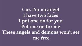 Angels & Demons - Melissa Otero (Dance Moms) - Lyrics