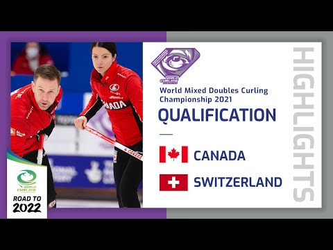 Highlights of Canada v Switzerland - Quarter-final - World Mixed Doubles Curling Championship 2021