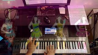 Feels Calvin Harris ft. Pharrell Williams - Yamaha PSR S770
