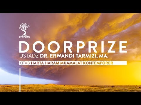 DOORPRIZE  Ustadz DR Erwandi Tarmizi, MA