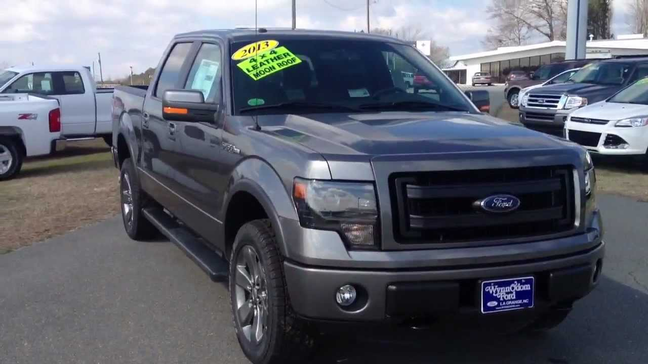 2013 ford f 150 supercrew fx4 sterling gray for sale youtube. Black Bedroom Furniture Sets. Home Design Ideas