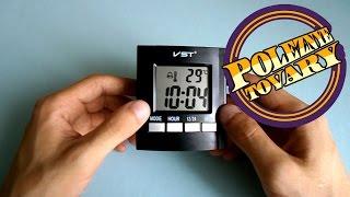 Говорящие часы VST 7027C обзор и настройка