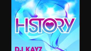 DJ KAYZ ft FRISSCO - HISTORY [RADIO EDIT]