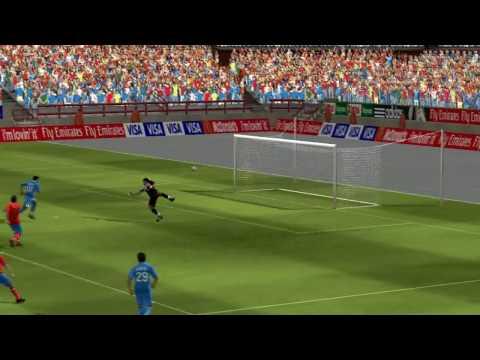 FIFA 10 Exclusive PC Gameplay - FC Barcelona Vs Real Madrid |HD| | DIY