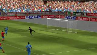 2010 FIFA World Cup South Africa - Spain vs Italy - PC Gameplay [HD]