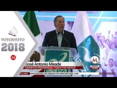 Meade ya es candidato del Panal a la Presidencia