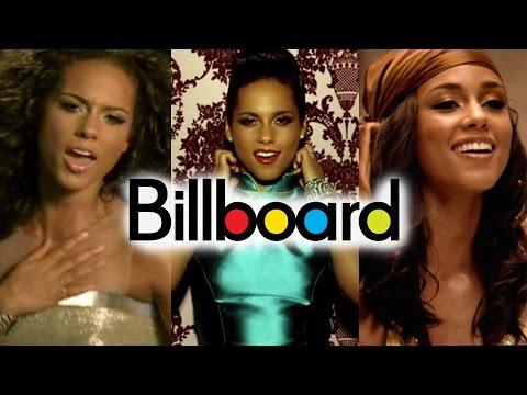 Alicia Keys - Billboard Chart History