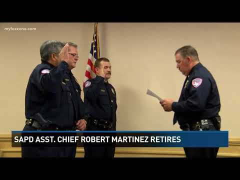 SAPD Asst. Chief Robert Martinez retires after 36 years of service
