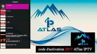 code d'activation ATLAS IPTV 2017 Atlas iptv  2018