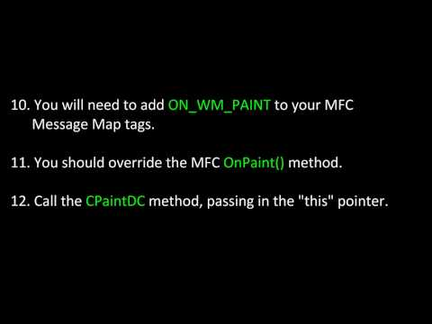 C++ MFC Applications - Adding Images